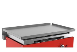 Griddle cooking surface