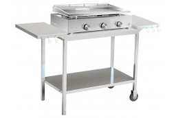 Full stainless steel trolley XL