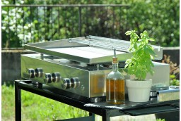 Plancha gas grill SIMPLICITY 3 - Stainless steel plate ☀ Verycook