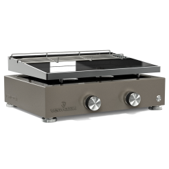 Plancha gas grill SIMPLICITY 2 - Enamelled steel plate ☀ Verycook