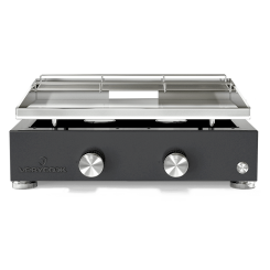 Plancha gas grill SIMPLICITY 2 - Stainless steel plate ☀ Verycook