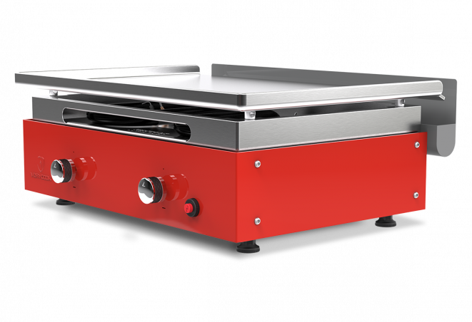 Plancha gas grill CREATIVE 2 - Stainless steel plate ☀ Verycook