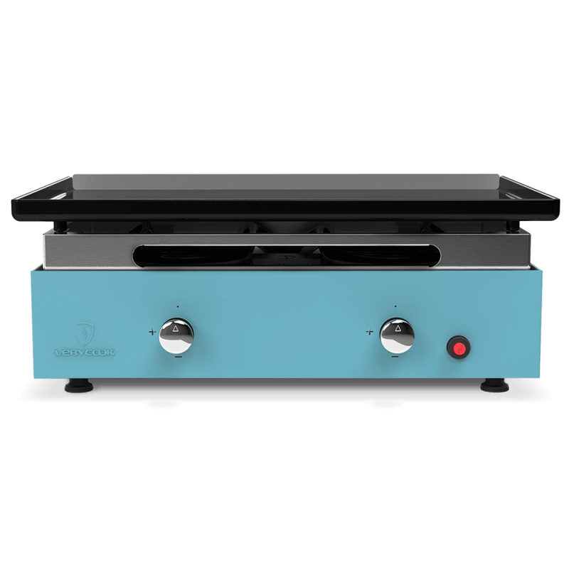 plancha gas grill creative 2 enamelled steel plate verycook. Black Bedroom Furniture Sets. Home Design Ideas