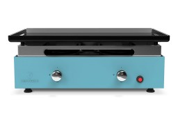 Plancha gas grill CREATIVE 2 burners - Enamelled steel plate