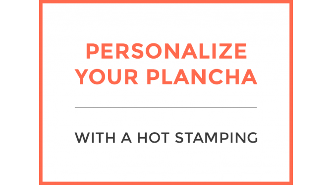 Option: Personalization of the plancha Creative