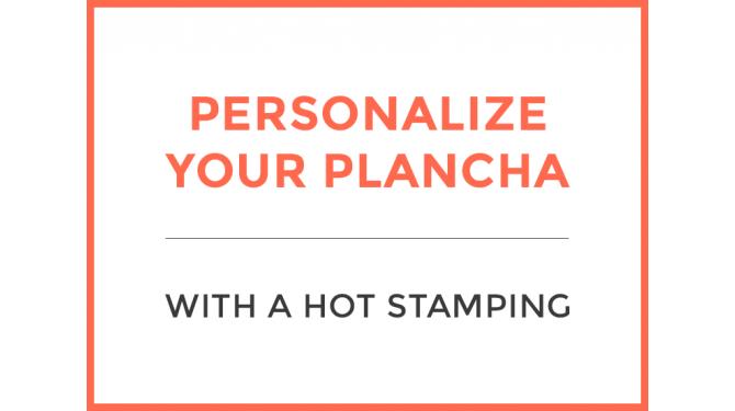 Personnalisation plancha