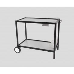 Trolley, metal & stainless steel ☀ Verycook
