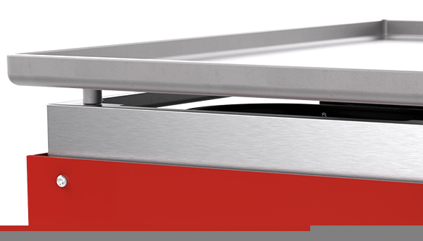 laminated steel plancha