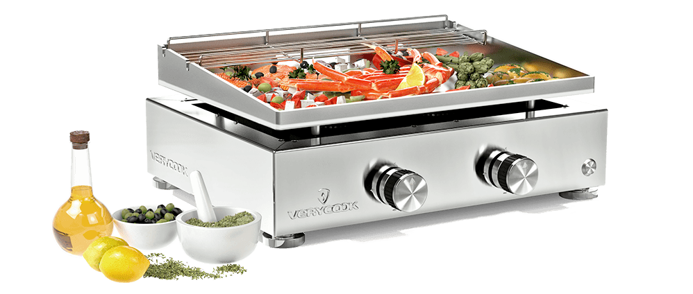 Plancha Gas Grill Simplicity 2 Stainless Steel Plate