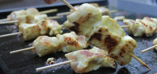 Chicken Curry Kebabs
