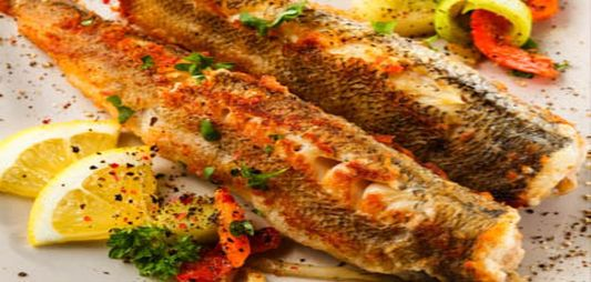 Grilled Herring
